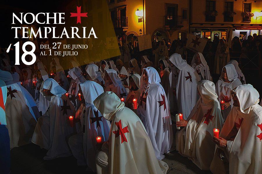 Noche Templaria 2018 en Ponferrada 2