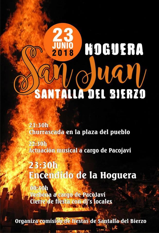 Noche San Juan 2018. Hogueras y donde vivirla en el Bierzo 6
