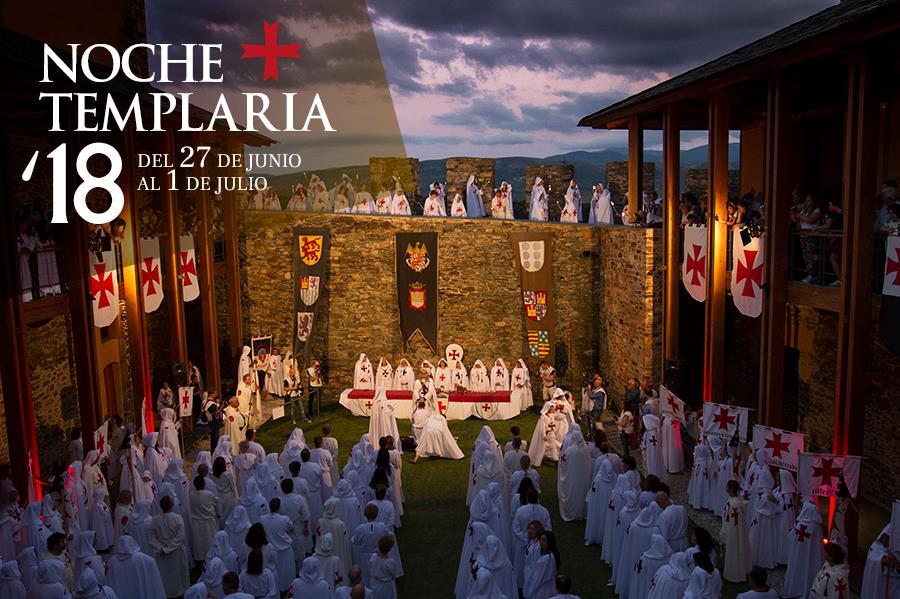 Noche Templaria 2018 en Ponferrada 3