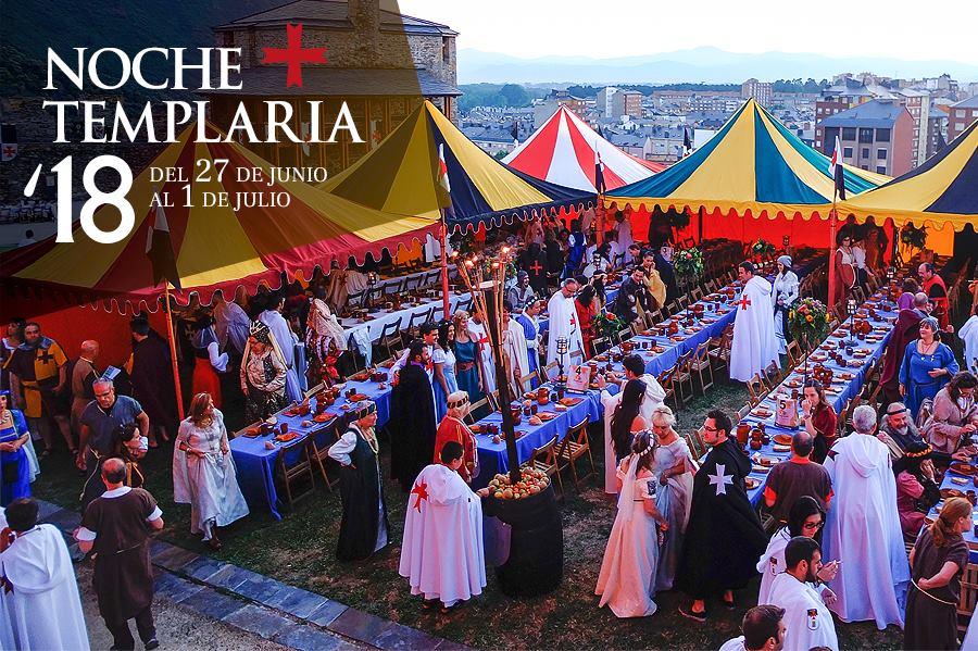 Noche Templaria 2018 en Ponferrada 4