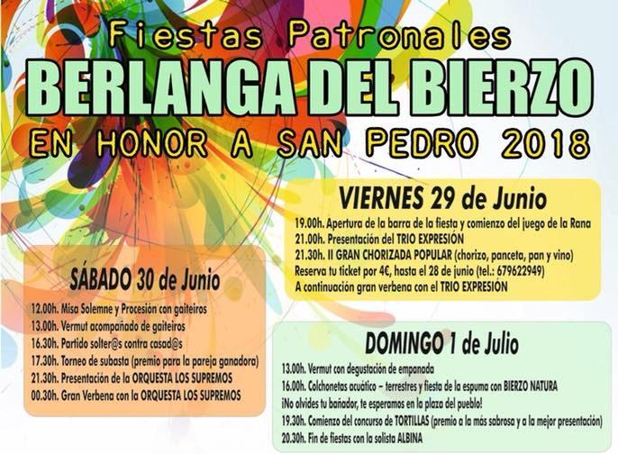 Planes para el fin de semana en Ponferrada y el Bierzo. 29 de junio al 1 de julio 2018 3