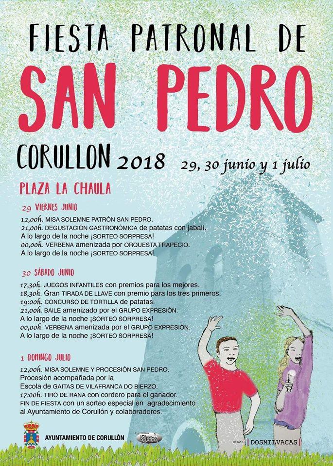 Fiestas de San Pedro 2018 en Corullón 2