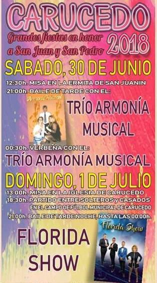 Grandes Fiestas en Carucedo en honor a San Juan y San Pedro 2