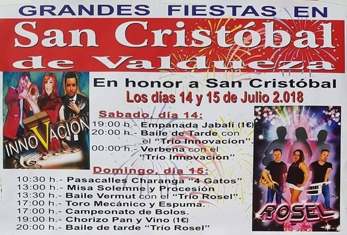 Fiestas patronales de San Cristobal de Valdueza 2