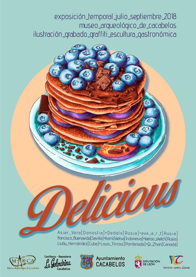 El Museo Arqueológico de Cacabelos presenta DELICIOUS, una exposición temporal dedicada a saborear la gastronomía a través de la ilustración 2