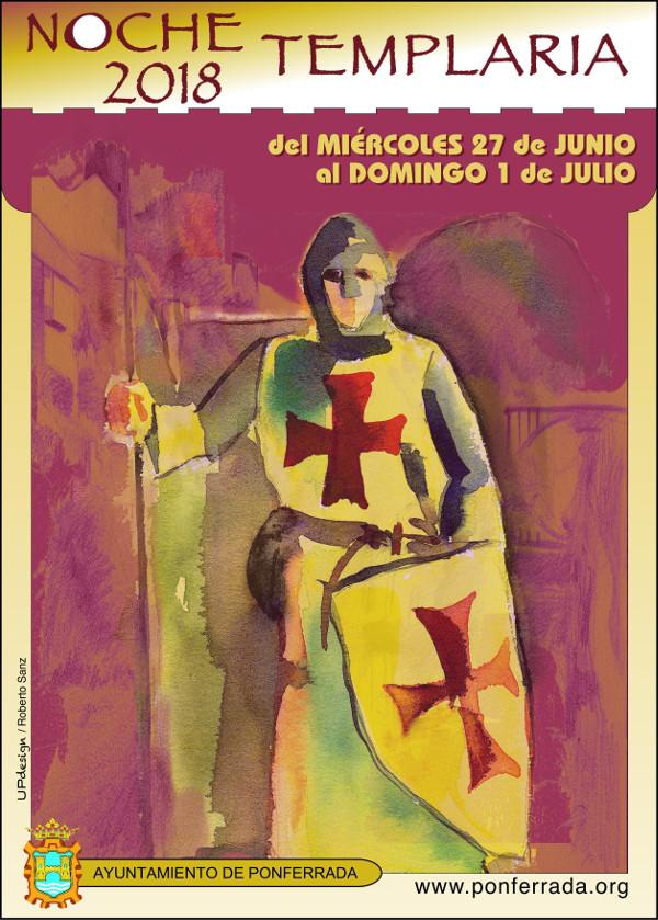 Noche Templaria 2018 en Ponferrada 9