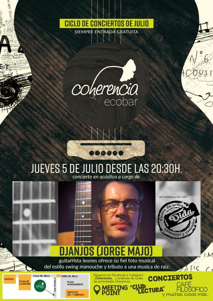 Concierto de Djanjos (Jorge Majo) en Coherencia Ecobar 2