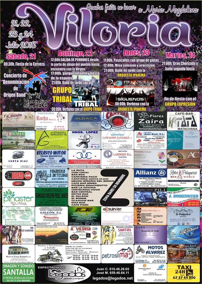 Planes en Ponferrada y El Bierzo para el fin de semana 20 al 22 de julio 2018 14
