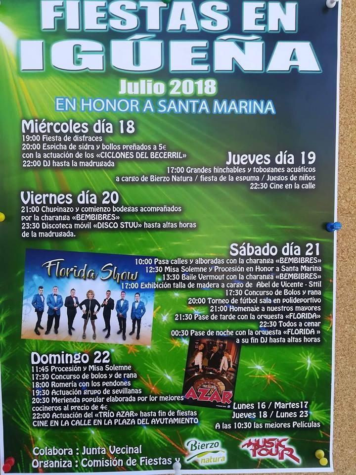 Planes en Ponferrada y El Bierzo para el fin de semana 20 al 22 de julio 2018 7