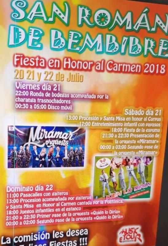Planes en Ponferrada y El Bierzo para el fin de semana 20 al 22 de julio 2018 5
