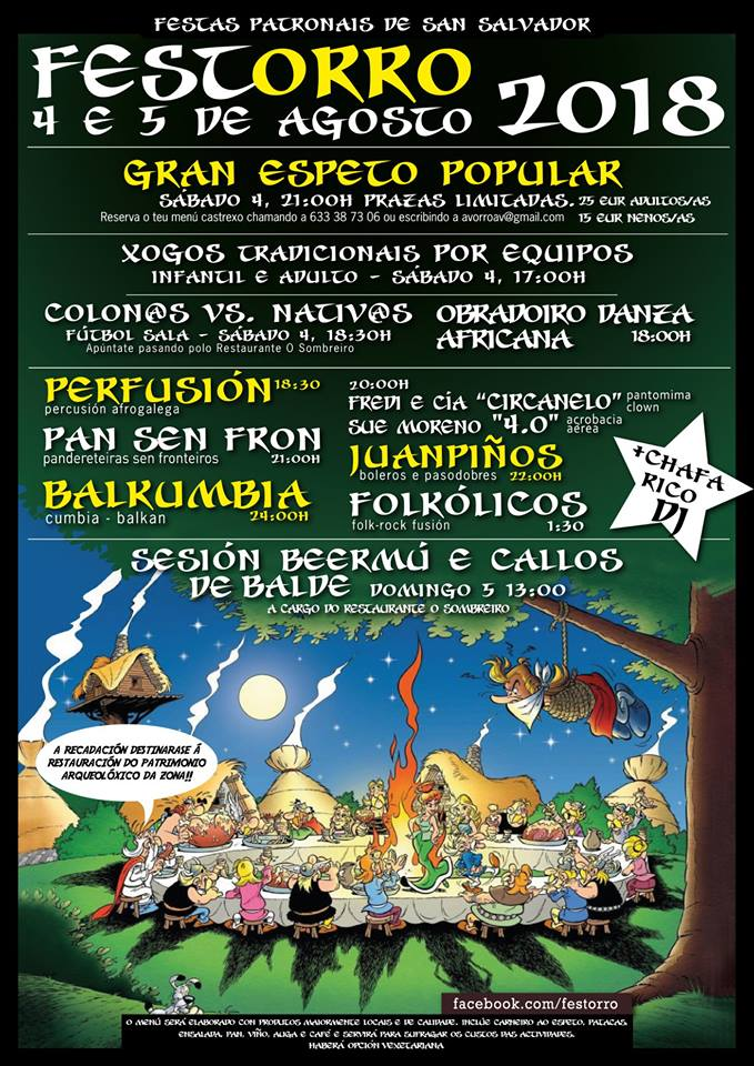Balboa celebra este fin de semana las fiestas de San Salvador con un 'Festorro' 2