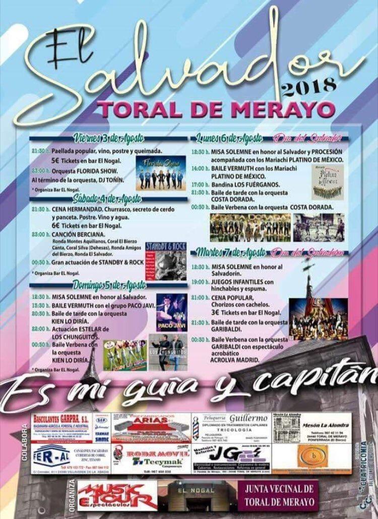 Toral de Merayo bailará rumbas en El Salvador 2018 con Los Chunguitos 2