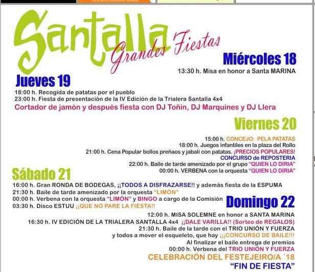 Fiestas en honor a Santa Marina en Santalla del Bierzo 2