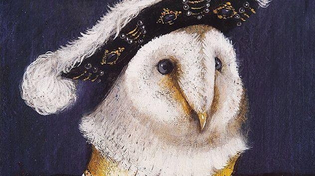 """""""LA OVEJA DE LA PERLA"""" y otros cuadros famosos del Gran Libro de los retratos de animales, por Svjetlan Junakovic"""