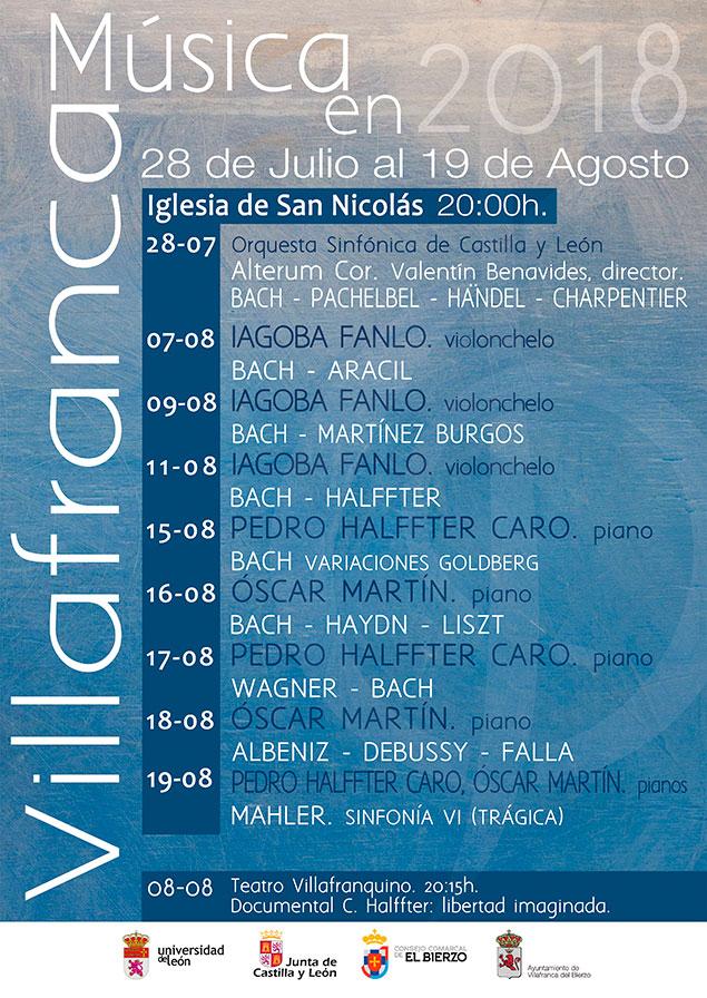 Ciclo de música clásica de Villafranca del Bierzo 2
