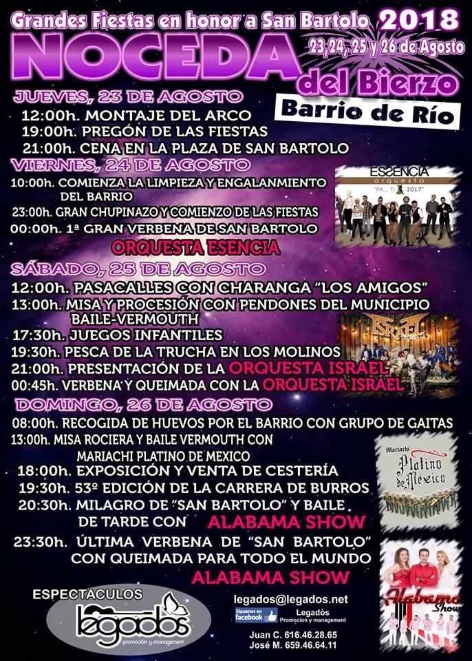 Planes para el fin de semana en Ponferrada y El Bierzo. 24 al 26 de agosto 2018 2