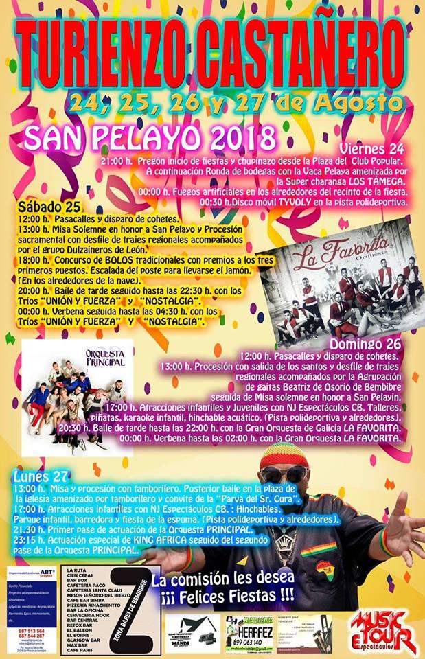San pelayo 2018 en Turienzo Castañero va a ser una 'Boooomba' 2