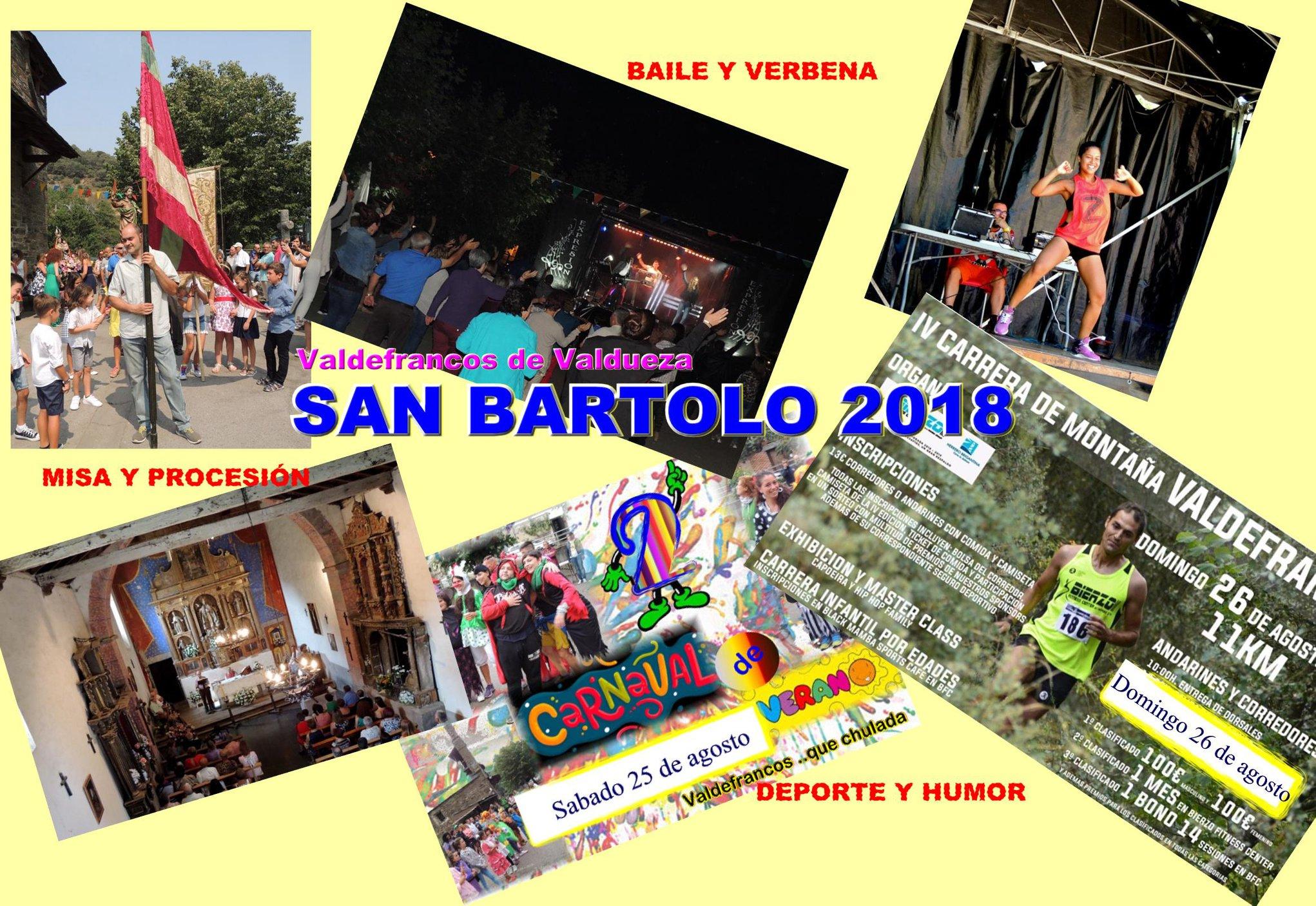Fiestas en Valdefrancos de Valdueza 2
