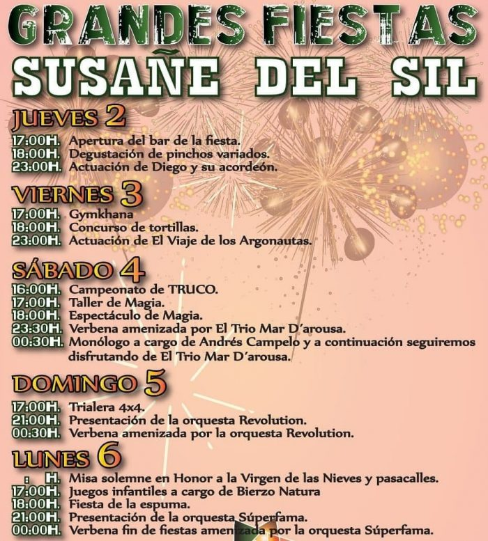 Planes para el fin de semana en Ponferrada y El Bierzo. 3 al 5 de agosto 2018 12