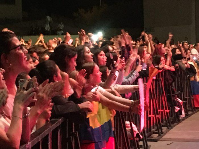 el pop de Morat mueve a los más jóvenes el día de Ponferrada 2