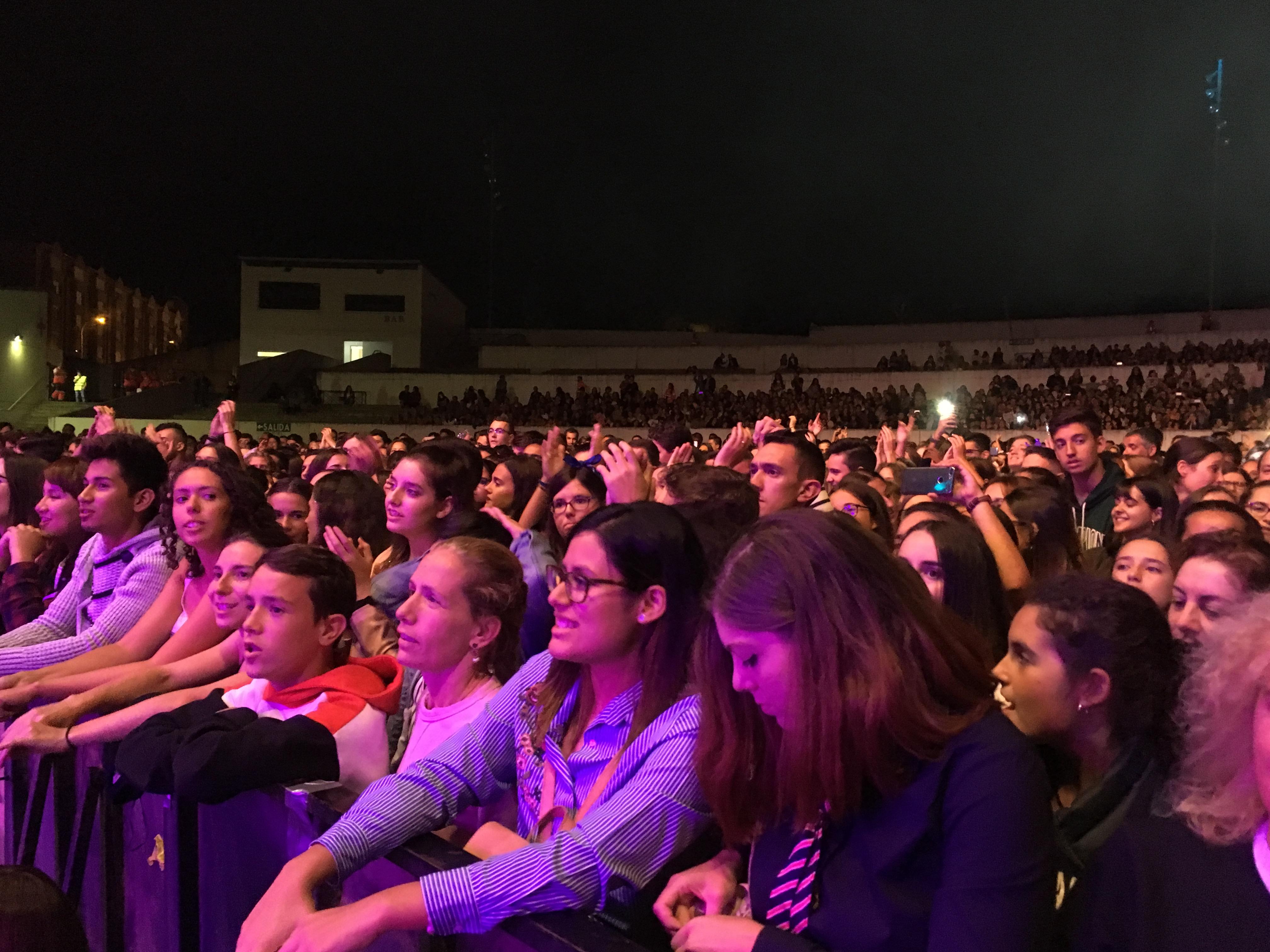 el pop de Morat mueve a los más jóvenes el día de Ponferrada 6