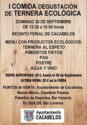 Cacabelos organiza la I Degustación de ternera ecológica 2