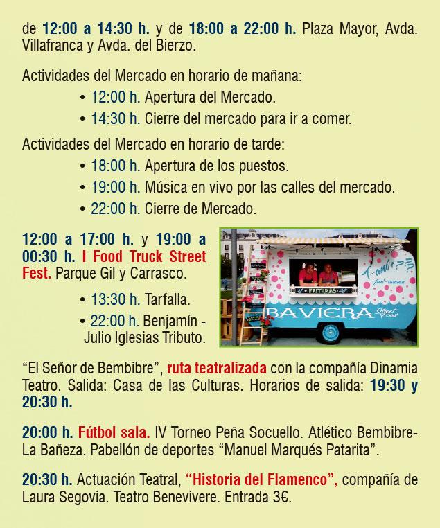 Planes en Ponferrada y El Bierzo para el fin de semana. 14 al 16 de septiembre 2018 11