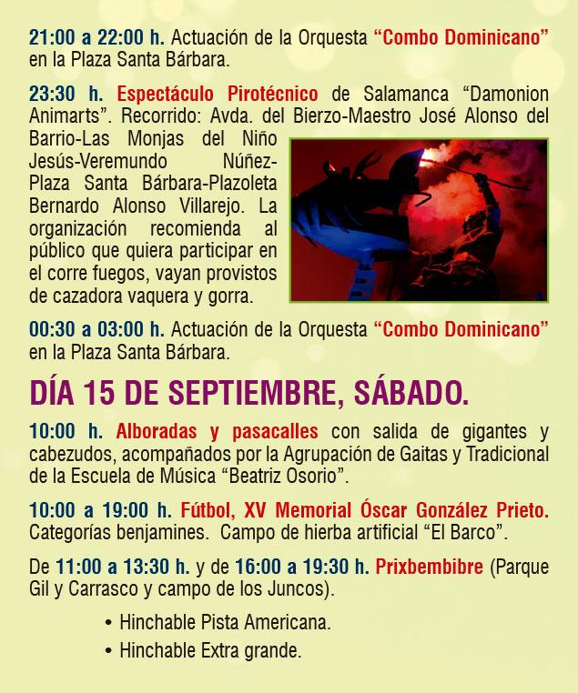 Planes en Ponferrada y El Bierzo para el fin de semana. 14 al 16 de septiembre 2018 12