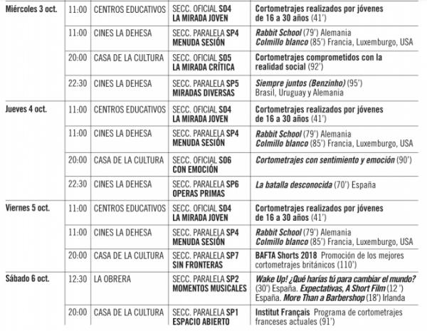 Festival internacional de Cine de Ponferrada 3