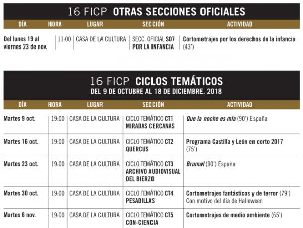 Festival internacional de Cine de Ponferrada 4