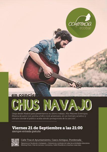 El madrileño Chus Navajo se presenta este viernes en Ponferrada 2