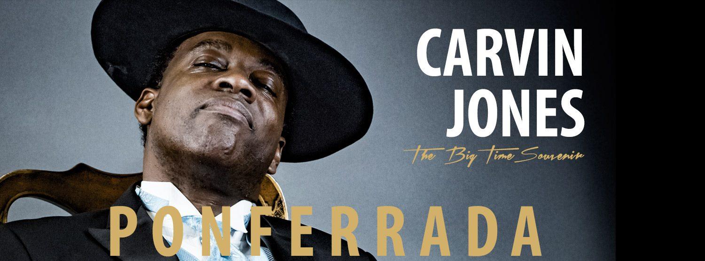 Carvin Jones llega este Jueves a España para comenzar su Gira de Conciertos