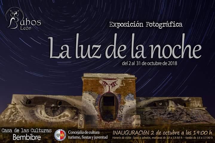 """Exposición del colectivo Búhos León """"La luz de la noche"""""""