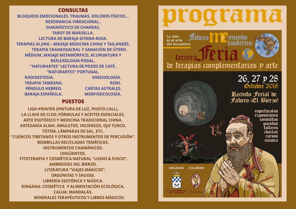 III Feria de Terapias Complementarias y Arte en Fabero 6