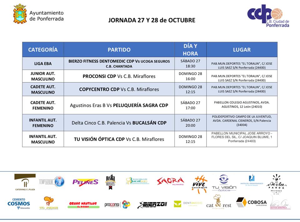 Planes en Ponferrada y El Bierzo para el fin de semana. 26 al 28 de octubre 2018 40