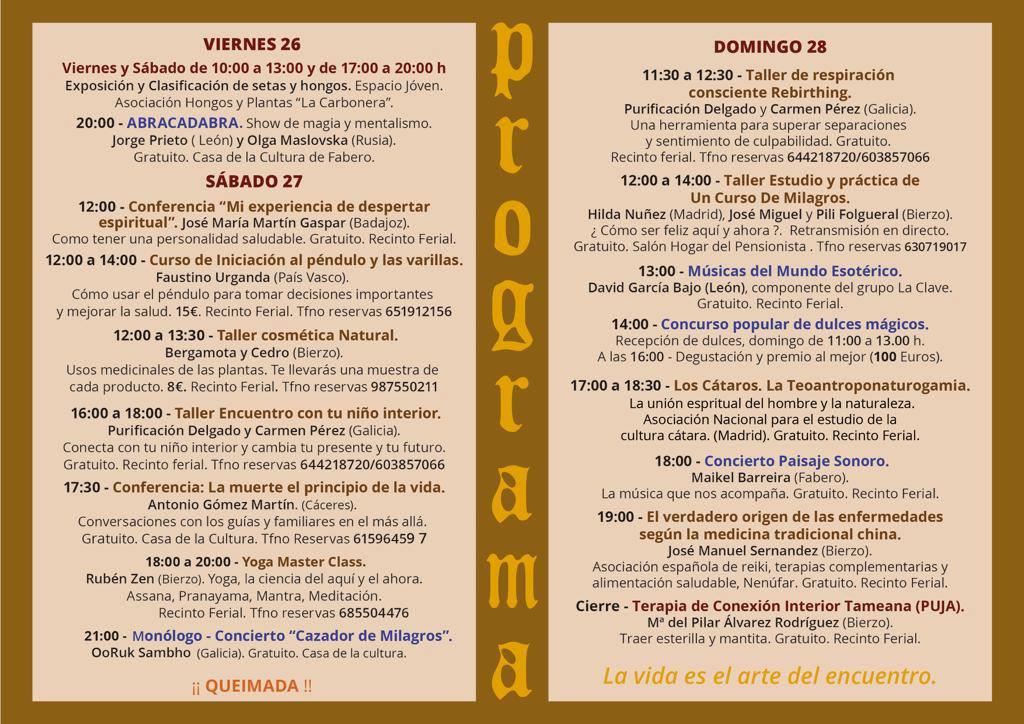 III Feria de Terapias Complementarias y Arte en Fabero 7