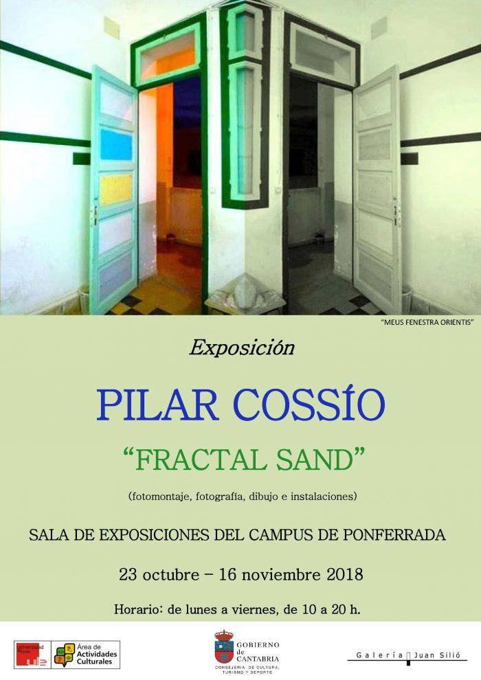 """Exposición de Pilar Cossío """"FRACTAL SAND"""""""