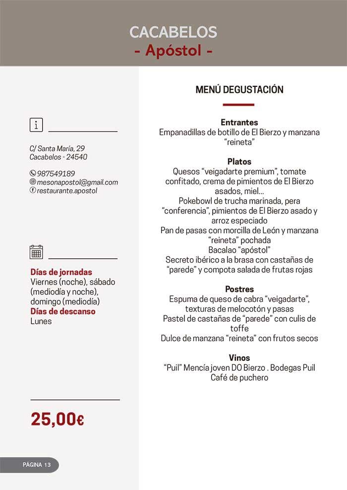 Las Jornadas Gastronómicas del Bierzo llegan a su 34 edición 3
