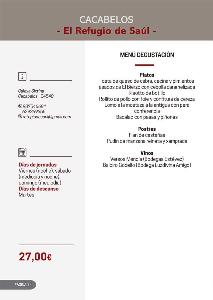Las Jornadas Gastronómicas del Bierzo llegan a su 34 edición 4