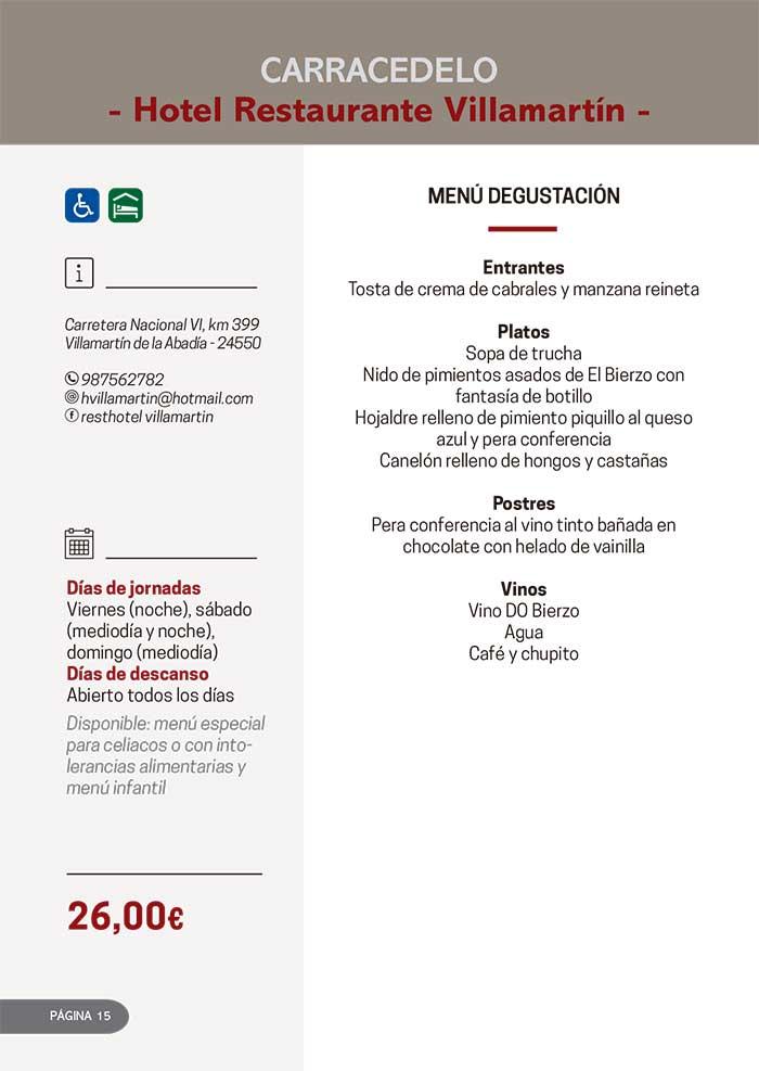 Las Jornadas Gastronómicas del Bierzo llegan a su 34 edición 5