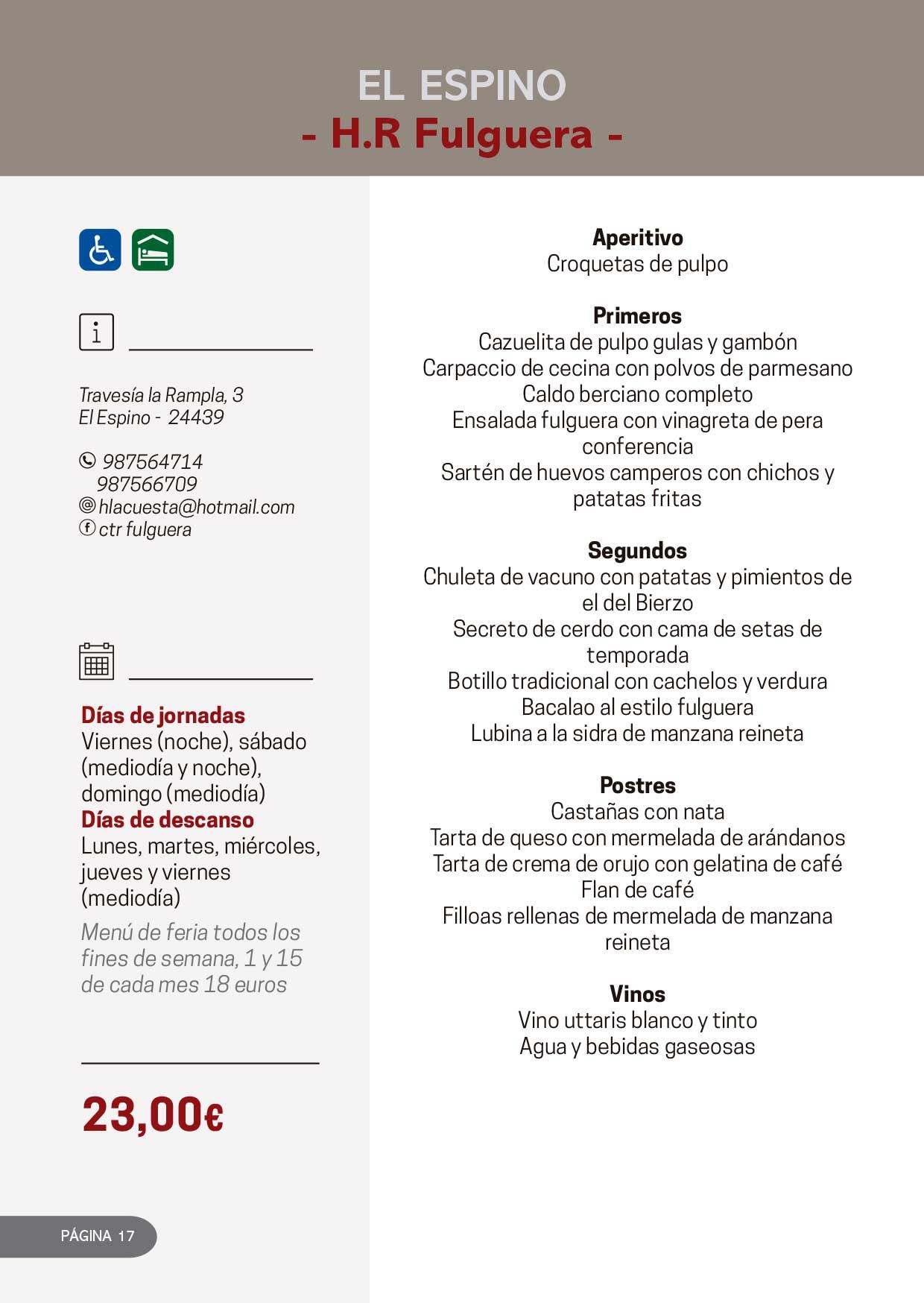 Las Jornadas Gastronómicas del Bierzo llegan a su 34 edición 7