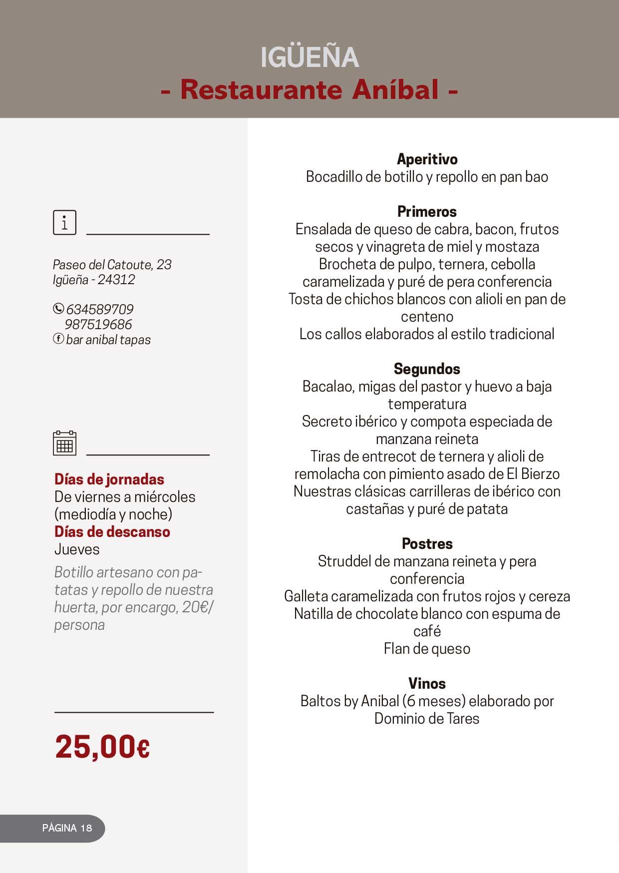 Las Jornadas Gastronómicas del Bierzo llegan a su 34 edición 8