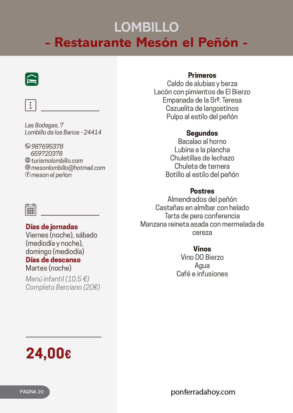 Las Jornadas Gastronómicas del Bierzo llegan a su 34 edición 10