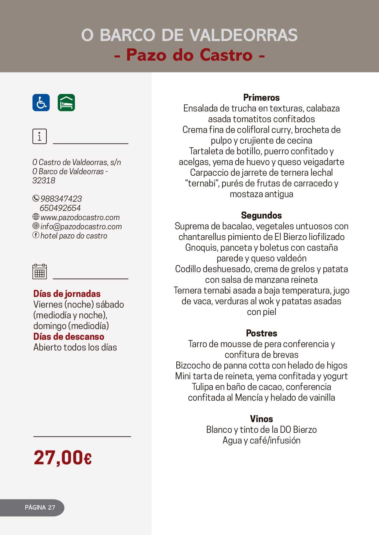 Las Jornadas Gastronómicas del Bierzo llegan a su 34 edición 13