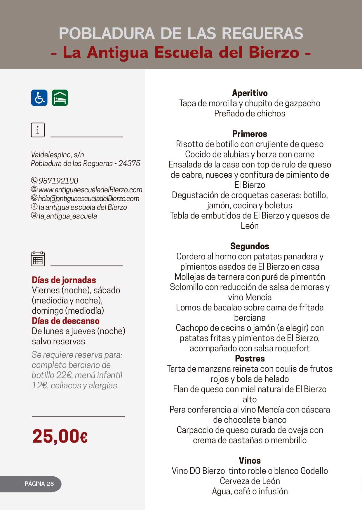 Las Jornadas Gastronómicas del Bierzo llegan a su 34 edición 14
