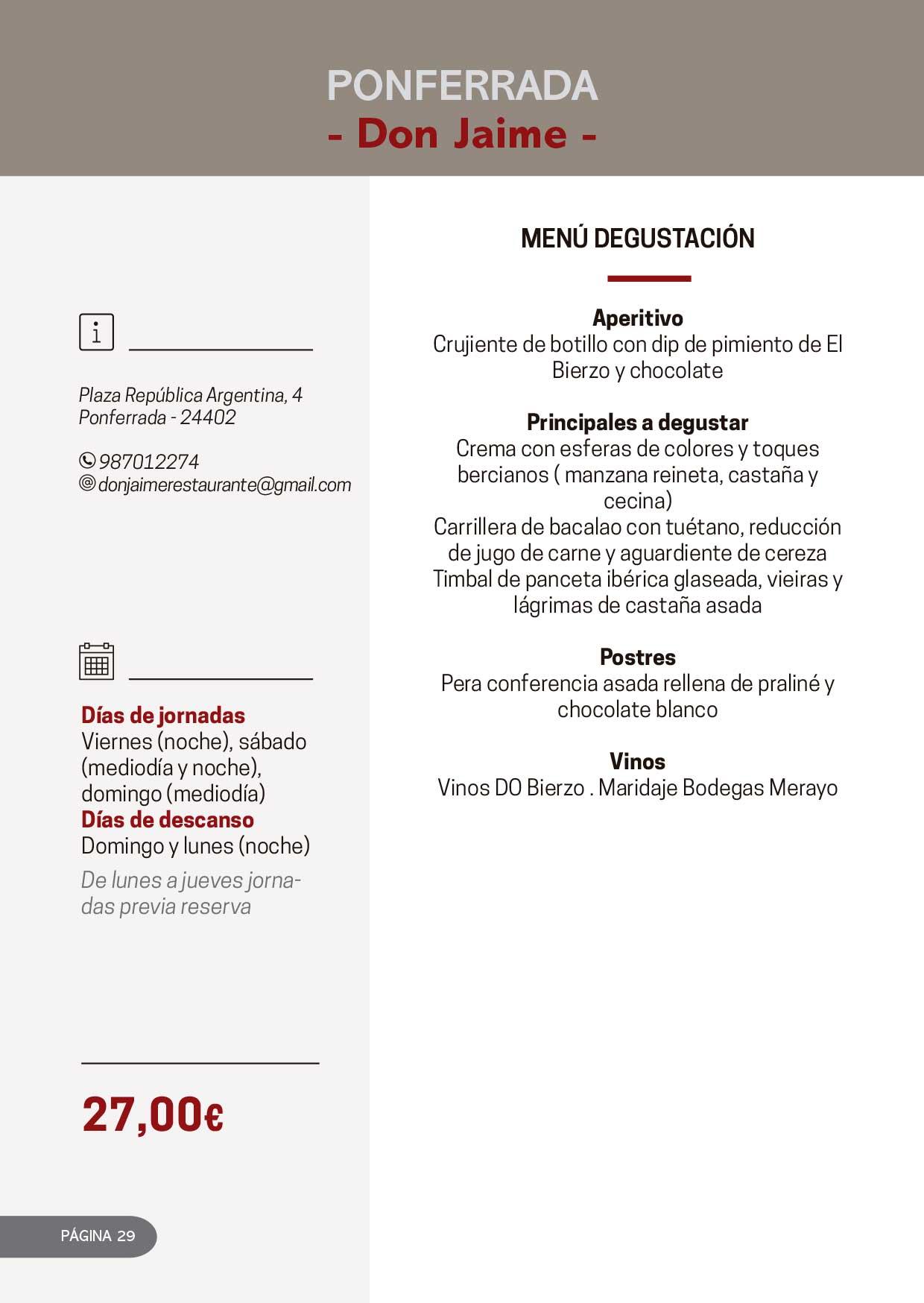 Las Jornadas Gastronómicas del Bierzo llegan a su 34 edición 15