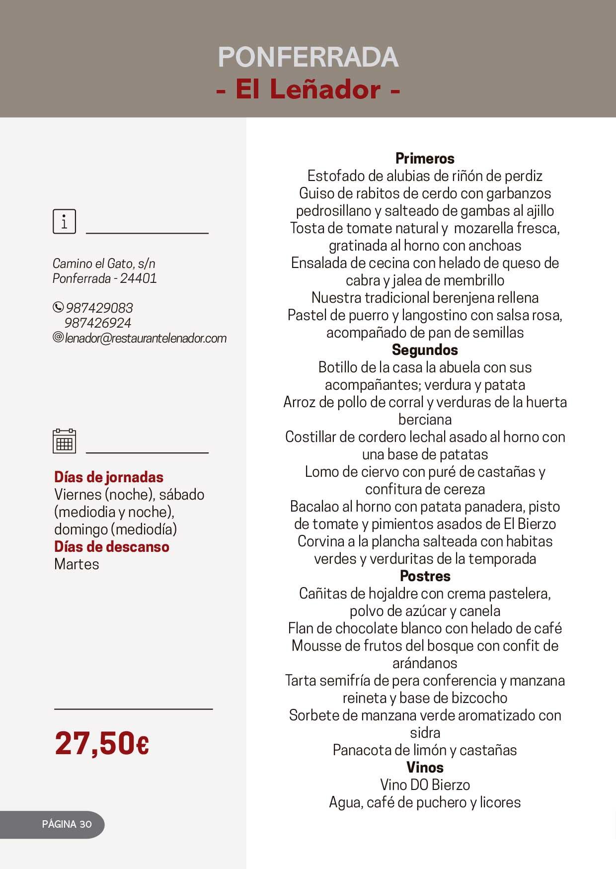 Las Jornadas Gastronómicas del Bierzo llegan a su 34 edición 16
