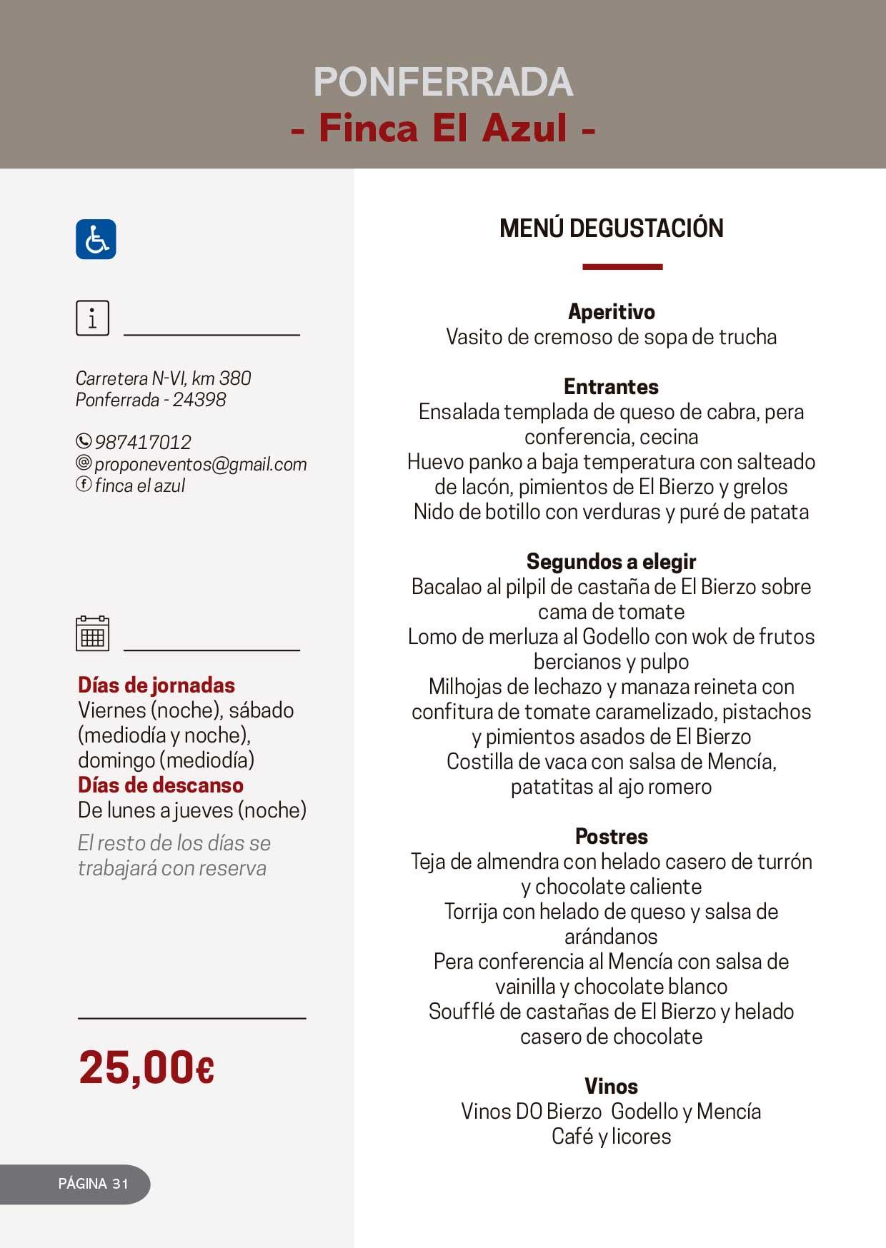 Las Jornadas Gastronómicas del Bierzo llegan a su 34 edición 17