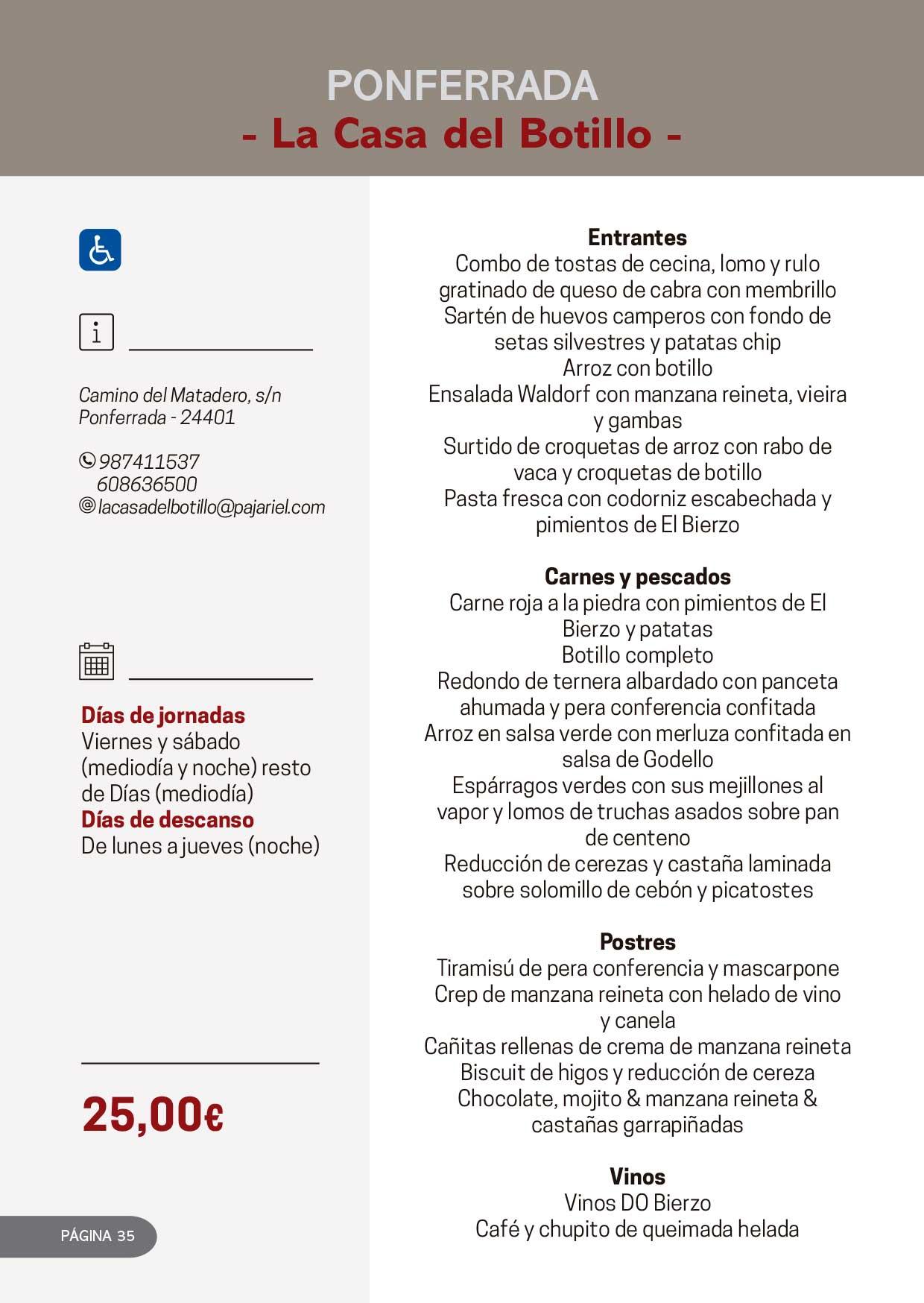 Las Jornadas Gastronómicas del Bierzo llegan a su 34 edición 18