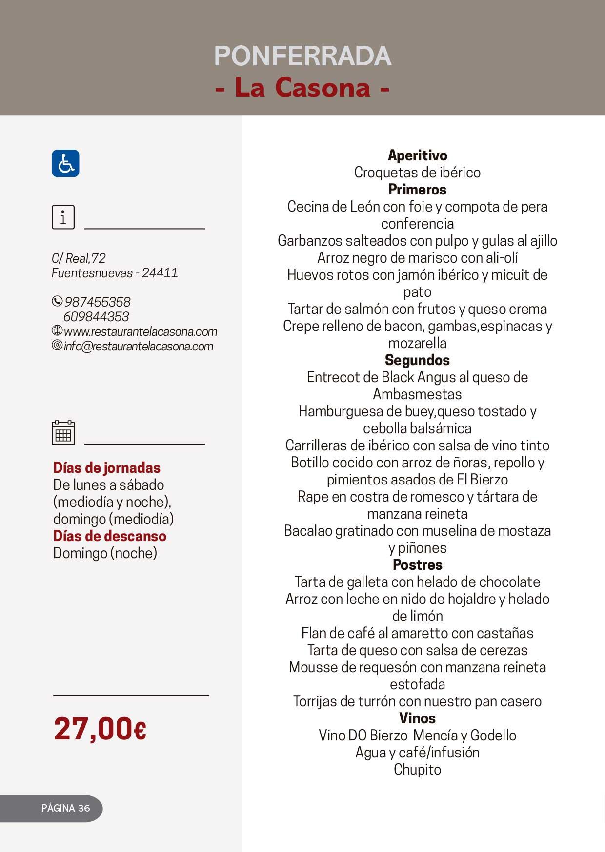 Las Jornadas Gastronómicas del Bierzo llegan a su 34 edición 19